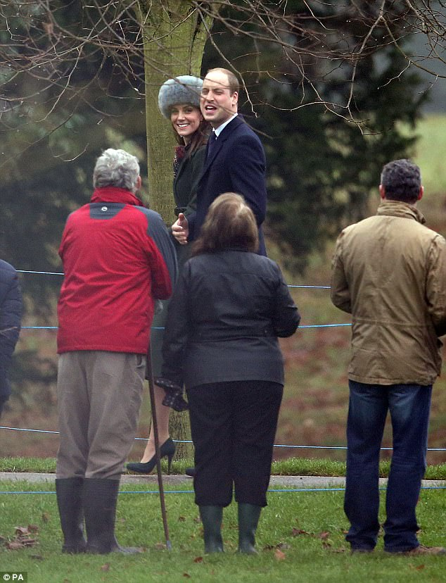 The Duchess kicked off the New Year by sporting new accesories to the value of £420 with a recycled coat at Sandringham