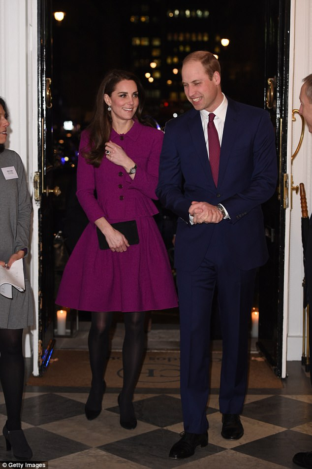 Kate attend Guild of Health Writers Conference with Heads Together in a £1762 Oscar De La Renta skirt suit