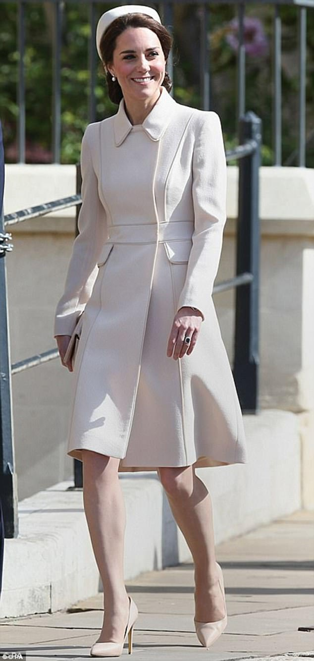 Kate sported new accessories worth more than £1,000 on Easter Sunday at Windsor