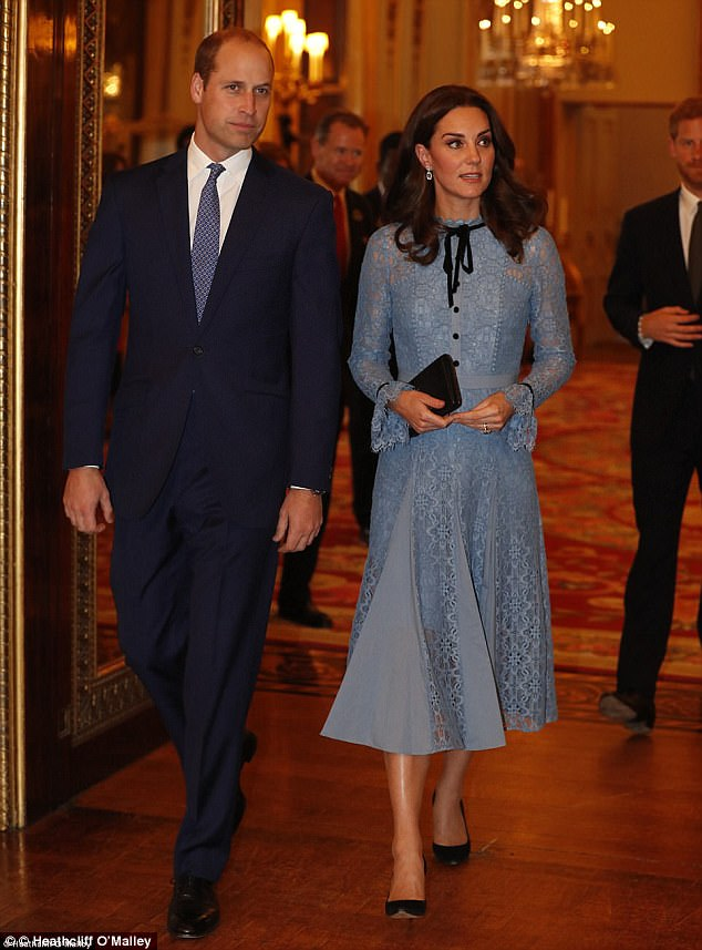 Kate made a radiant return to public duties in a £795 dress by Temperley London
