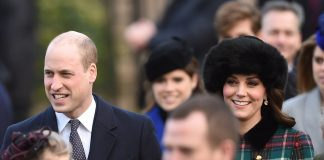 Pictured are Prince William and Kate Middleton, who proudly wore a tartan coat in a nod to the secret trips she took to Anstruther in Scotland with herPictured are Prince William and Kate Middleton, who proudly wore a tartan coat in a nod to the secret trips she took to Anstruther in Scotland with her then-fiance then-fiance