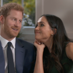 but william and kate were not the couple of 2017  heres harry and new fiance meghan markle sharing a candid moment while filming their engagement interview with the bbc