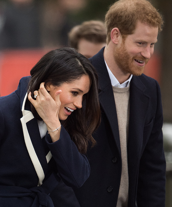 meghan markle cross bracelet prince harry