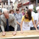not long after william and kate took a trip to germany and got the giggles trying to make pretzels in the town of heidelberg