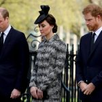 there were sad times too here the royal trio bow their heads outside a remembrance service held a few days after the terror attack on westminster bridge at the end of march