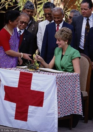 Princess Diana's Humanitarian Work.