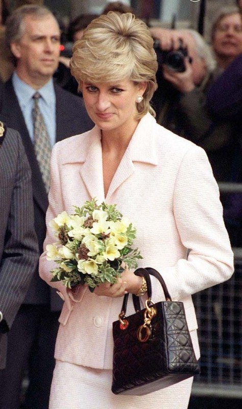 Princess Diana's Lady Dior handbag.