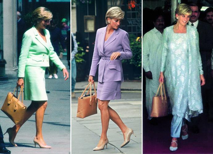 Princess Diana's Tod's D-Bag handbag.