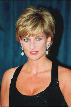 Princess Diana at the charity event in Manhattan, 1995.