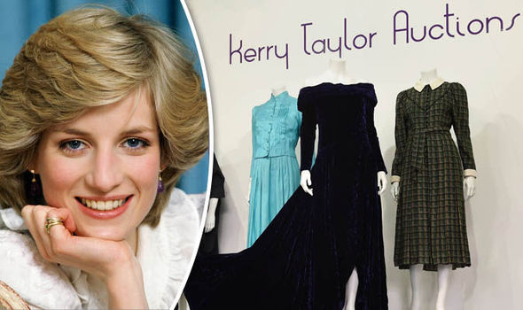 Princess Diana dress auction Kerry Taylor Royal Family 7426563
