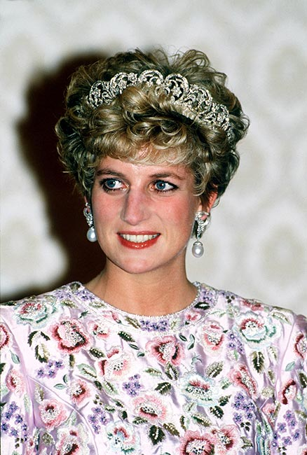 Sam revealed Diana would sometimes prefer a permed style