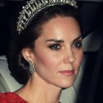 1 The Duchess of Cambridge attending the Annual Diplomatic Reception at Buckingham Palace.