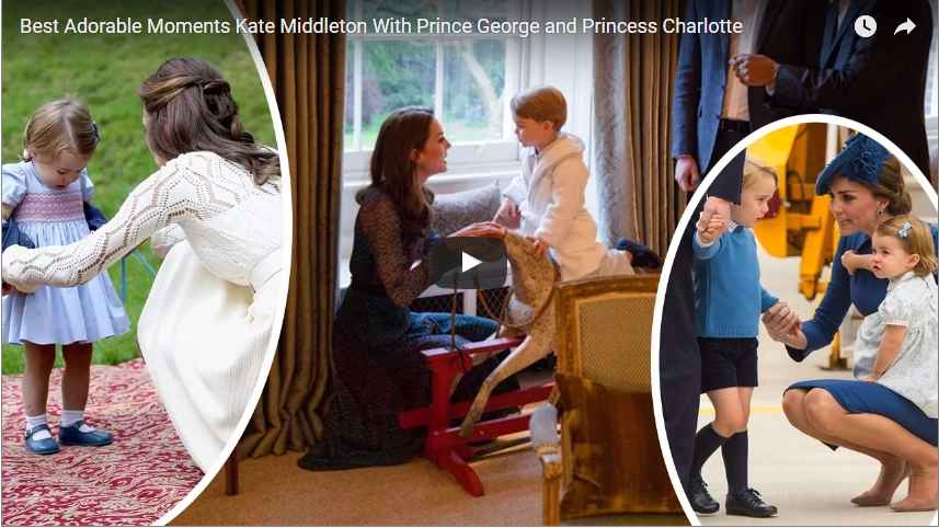 Best Adorable Moments Kate Middleton With Prince George and Princess Charlotte