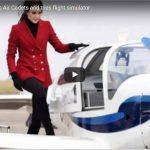 Catherine Duchess of Cambridge Flight Simulation
