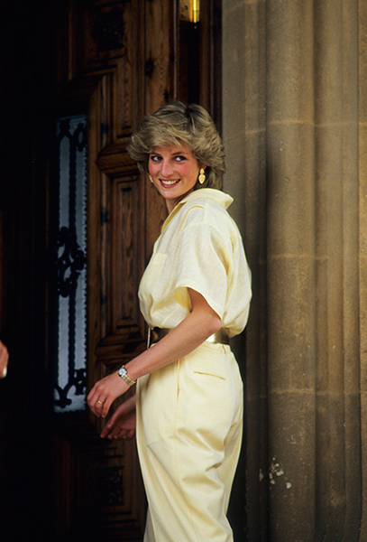 Diana was tragically killed in a car accident on August 31, 1997 Photo (C) GETTY IMAGES
