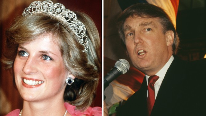 Donald Trump 'Stalked' Princess Diana, Saw Her as the 'Ultimate Trophy Wife,' Friend Says
