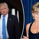Donald Trump sent Princess Diana with flowers Photo C GETTY