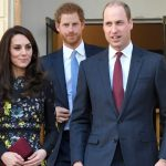 Earlier in the day William and Harry were joined by Kate to attend the briefing announcing upcoming plans