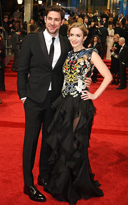 Julia Styles couldnt stop smiling as she hit the red carpet with camera assistant Preston J. Cook Photo C GETTY