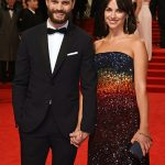 Fifty Shades of Grey actor Jamie Dornan proudly escorted his wife Amelia Warner to Sundays ceremony Photo C GETTY