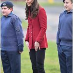 Good humoured Kate pulled some silly faces as she caught up with the Air Cadets in Cambridgeshire