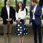 Harry attended the event with Prince William and Kate to launch the new mental health campaign