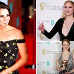 Kate Middleton stunned at the BAFTA awards along some of Hollywoods best dressed stars Photo C EPA PA REUTERS