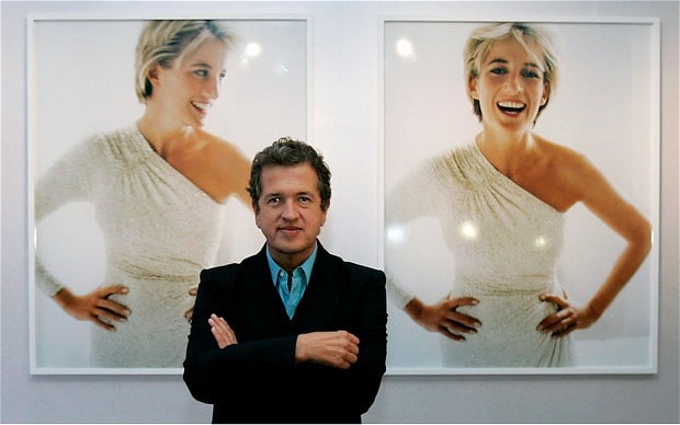 Mario Testino photographed Princess Diana for Vanity Fair in July 1997, one month before her