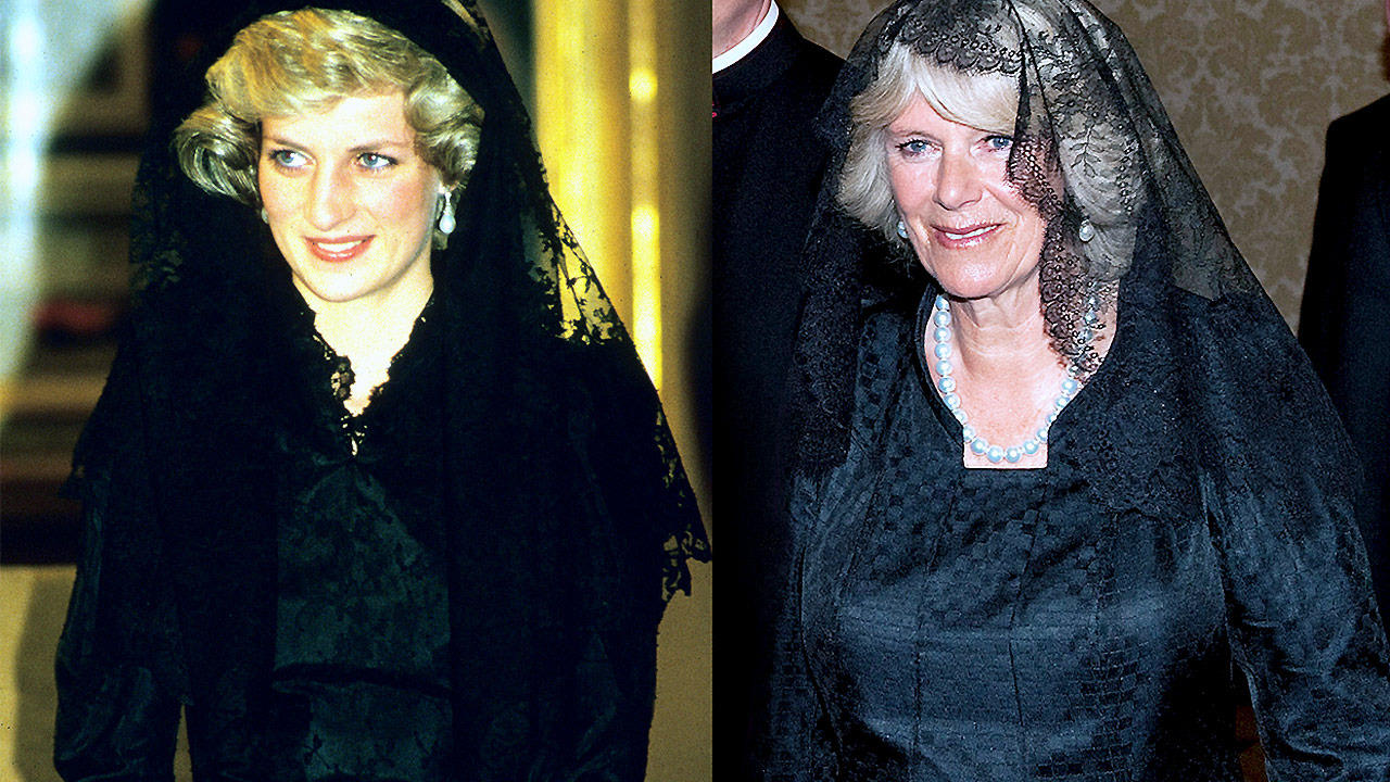Princess Diana and Camilla Photo (C) GETTY IMAGES