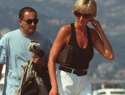 Princess Diana with Dodi Fayed Photo (C) GETTY