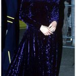 Princess Diana wore the dress again at a charity gala in London in November 1988