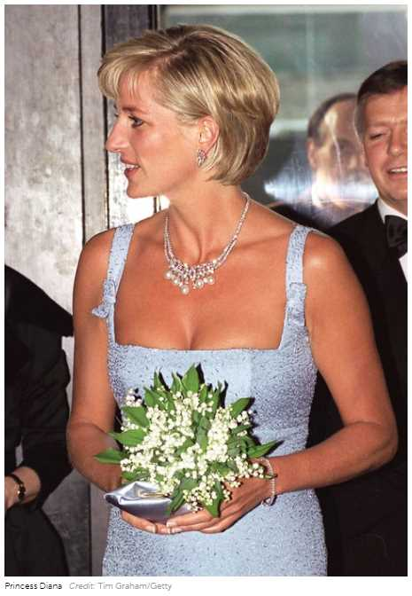 """The royal signed the letter """"Diana X"""""""