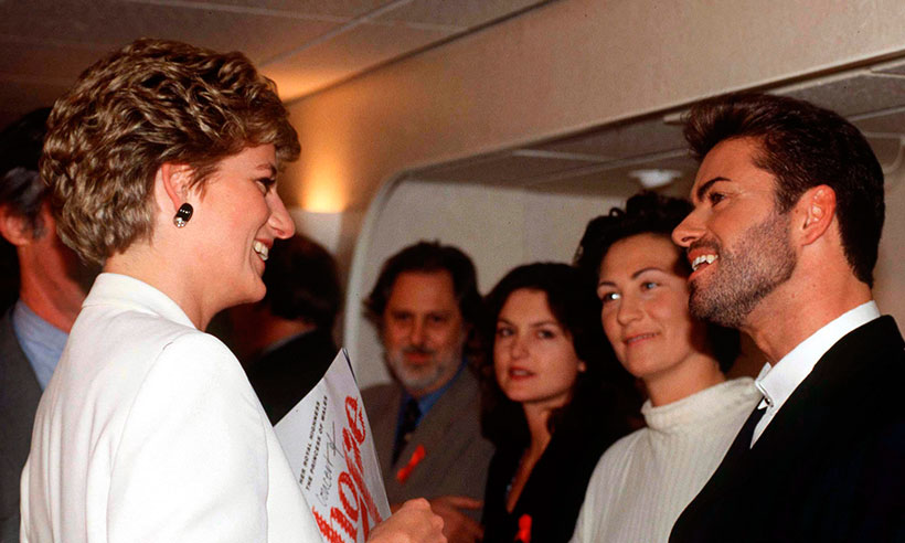 Princess Dianas former chef reveals the great chemistry between her and George Michael Photo C GETTY IMAGES