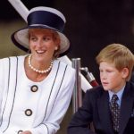 Royals Princess Diana with Prince Harry in London August 1995 REUTERS