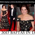 THE Breathtaking JEWELS worn by DUCHESS of CAMBRIDGE at BAFTAs Tonight British Royal Jewellery