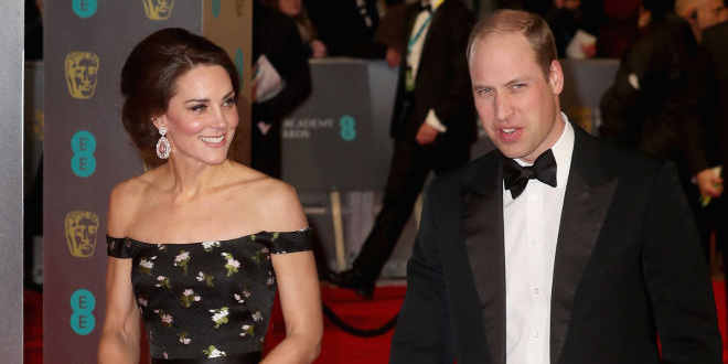 The Duke and Duchess of Cambridge Looked Incredible on the BAFTAs Red Carpet Photo (C) GETTY