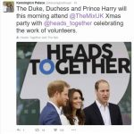 The event comes after Prince Harry revealed he buried his feelings over the sudden death of his mother Princess Diana in an emotional TV interview