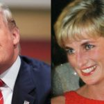 US Presidential hoepful Donald Trump and Princess Diana. Photo AP
