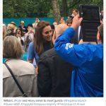William Kate and Harry arrive to meet guests @thepatronslunch Queenat90 happybirthdayyourmajesty PatronsLunch royal duchessofcambridge Photo C Instagram