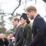 William Kate and Harry walking to church on Christmas morning December 25 2015 Photo C GETTY IMAGES