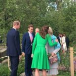 William Kate in @CatwalkerCo and Harry arrive at the @The RHS Chelsea Flower Show ahead of The Queen RHS Photo C INSTAGRAM
