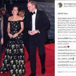 kensingtonroyalThe Duke and Duchess of Cambridge arrive at the EE British Academy Film Awards at the Royal Albert Hall