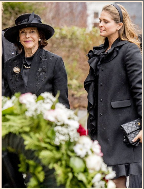 Funeral of Prince Richard of Sayn-Wittgenstein-Berleburg Photo (C) GETTY IMAGES