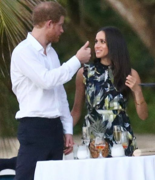 1 Britains Prince Harry went to Jamaica in order to attend the wedding ceremony of the couple Tom Inskip and Lara Hughes Young who are one of his closest friends