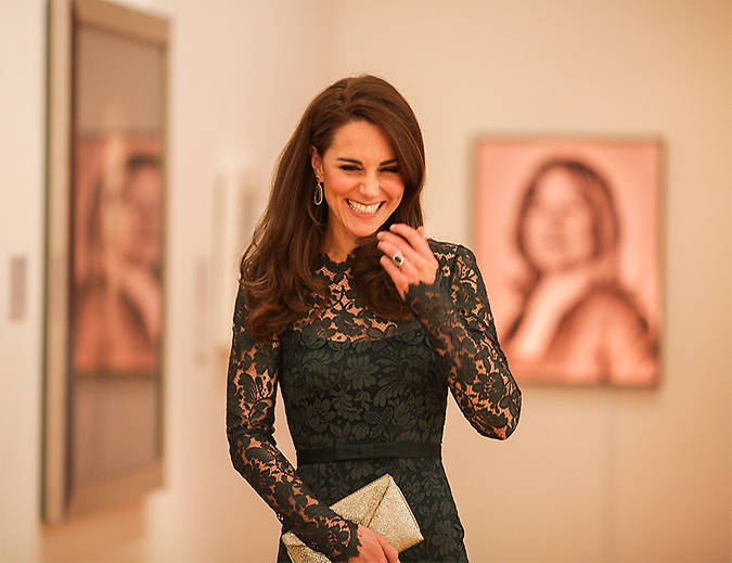 "The Duchess of Cambridge stepped out for a solo engagement on Tuesday night - attending the National Portrait Gallery's 2017 Portrait Gala. Kate, who was attending in her role as patron of the iconic London museum, looked stunning on her official night out. She kicked off the event with a reception, where she viewed the newest exhibitions, followed by the gala dinner. Kate, 35, had the chance to mingle with a selection of guests, many of whom will have contributed to this important event. She was also introduced to Richard Found and Jane Suitor, fellow parents from Thomas's school in Battersea, where Prince George is due to start in September. ""We were chatting about Thomas's, the school George will be going to,"" said Mr Found afterwards, adding: ""We're parents there as well. She just said 'I may see you at the school gates.'"" Photo: © Twitter"