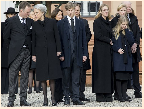 10 Funeral of Prince Richard of Sayn Wittgenstein Berleburg Photo C GETTY IMAGES