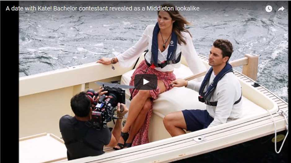 A date with Kate Bachelor contestant revealed as a Middleton lookalike