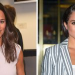 After Meghan got all the attention at a wedding she attended with Prince Harry last week Pippa is reportedly concerned about the stars presence at her own nuptials Photo C GETTY IMAGES