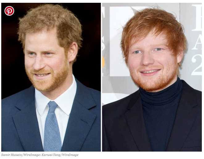 Apparently Harry Potters Rupert Grint isnt the only famous redhead who gets mistaken for Ed Sheeran