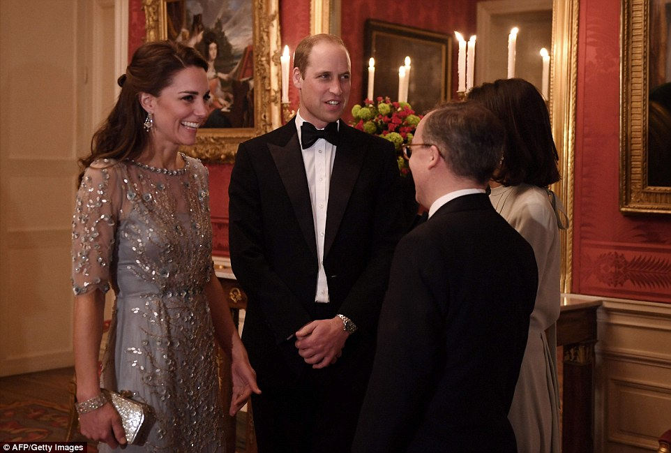 At the gala dinner tonight, William said 'The connections between our nations run deep – ties of history, ties of values, ties of friendship and family'